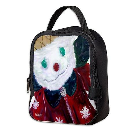 Jingle Bear Neoprene Lunch Bag