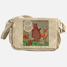 Bear Methane Gas Messenger Bag
