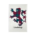 Lion - Lindsay Rectangle Magnet (100 pack)