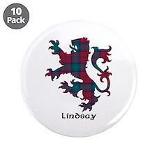 "Lion - Lindsay 3.5"" Button (10 pack)"