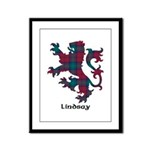 Lion - Lindsay Framed Panel Print