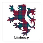 Lion - Lindsay Square Car Magnet 3