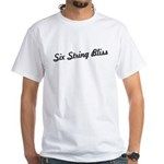 Six-String Bliss White T-Shirt