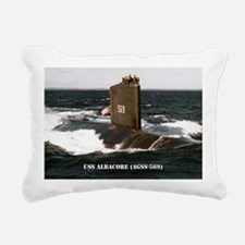 albacore large poster Rectangular Canvas Pillow