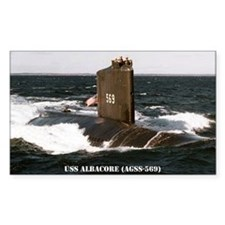 albacore large framed print Decal