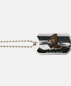 albacore rectangle magnet Dog Tags