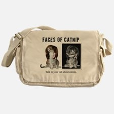 Faces of Catnip 2 Messenger Bag