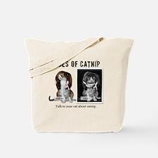 Faces of Catnip 2 Tote Bag