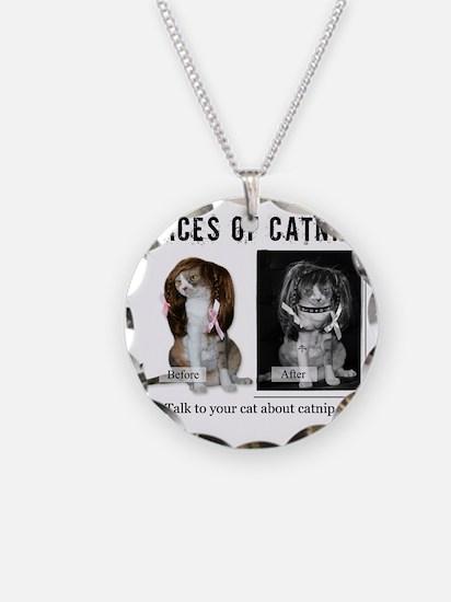 Faces of Catnip 2 Necklace