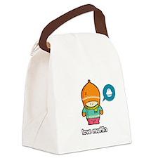 Love Muffin ORA-PNK Canvas Lunch Bag