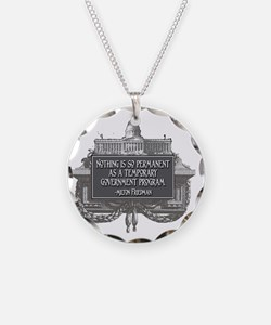 2-Milton Friedman on Governm Necklace