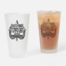 2-Milton Friedman on Government Sol Drinking Glass