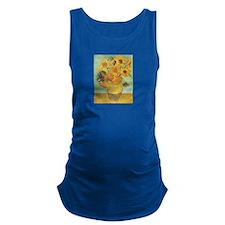 Van_Gogh_Twelve_Sunflowers.jpg Maternity Tank Top