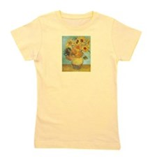 Van_Gogh_Twelve_Sunflowers.jpg Girl's Tee