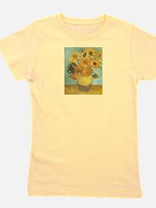 Van_Gogh_Twelve_Sunflowers.jpg Girl's Tee