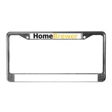 homebrewer_lt License Plate Frame
