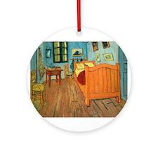 VanGogh_Bedroom_Arles1.jpg Ornament (Round)