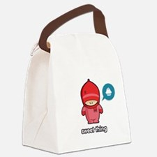 Sweet Thing PNK Canvas Lunch Bag