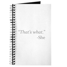 That's What - She Journal