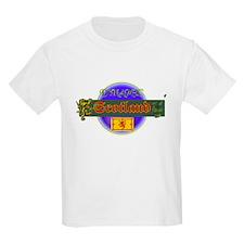 Dynamic Scotland Kids T-Shirt