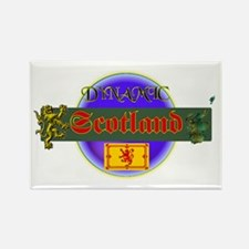 Dynamic Scotland Rectangle Magnet