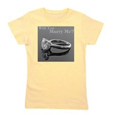 MarryMe.CafePress Girl's Tee