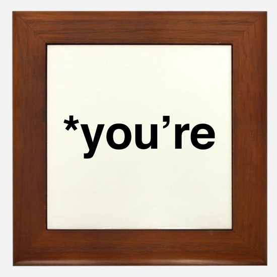*You're Framed Tile
