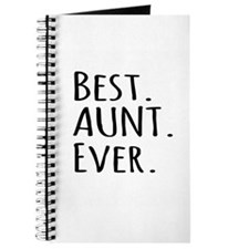 Best Aunt Ever Journal