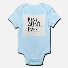 Best Aunt Ever Body Suit