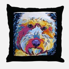 Sunshine The Doodle Throw Pillow