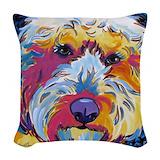 Goldendoodle Woven Pillows