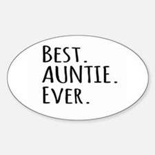 Best Auntie Ever Decal