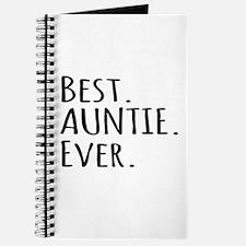Best Auntie Ever Journal