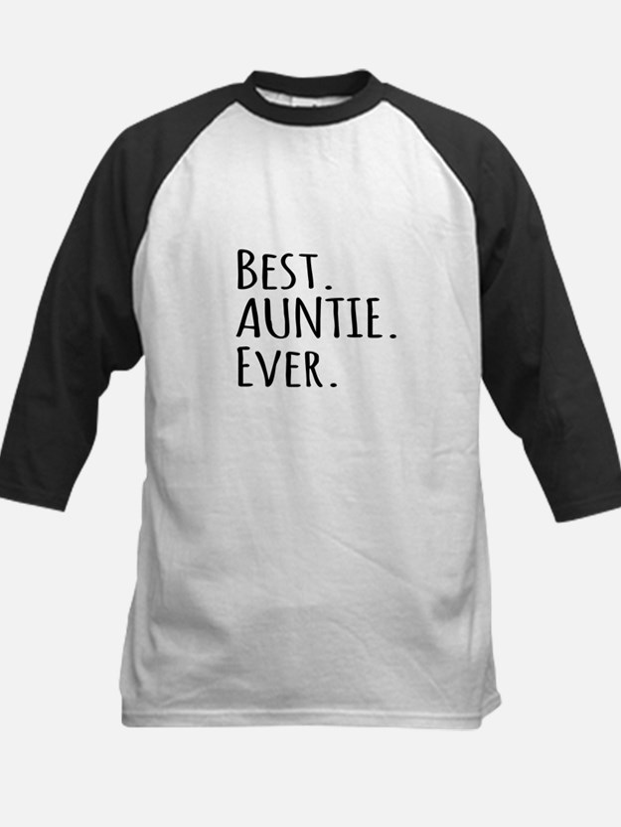 Best Auntie Ever Baseball Jersey