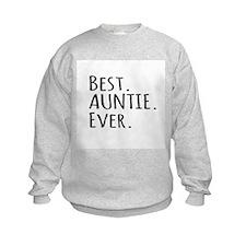 Best Auntie Ever Sweatshirt