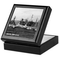 boyd small poster Keepsake Box