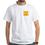 LGBT Hot Pocket Pop White T-Shirt