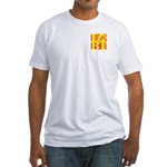 LGBT Hot Pocket Pop Fitted T-Shirt