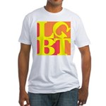 LGBT Hot Pop Fitted T-Shirt