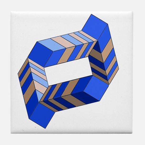Impossible Ring Tile Coaster