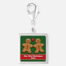 Personalize Gingerbread Couple Charms