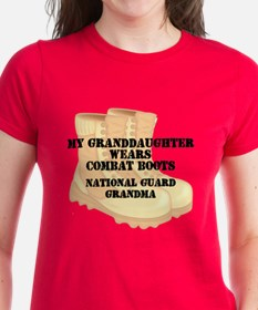 National Guard Grandma Granddaughter Desert Combat