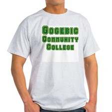 Gogebic Community College Ash Grey T-Shirt