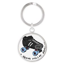 ask me 1 Round Keychain