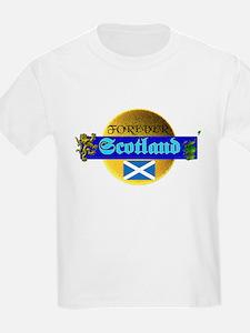 Forever Scotland. :-) Kids T-Shirt