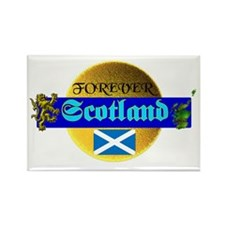 Forever Scotland. :-) Rectangle Magnet