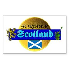 Forever Scotland. :-) Rectangle Decal
