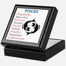 pisces Keepsake Box