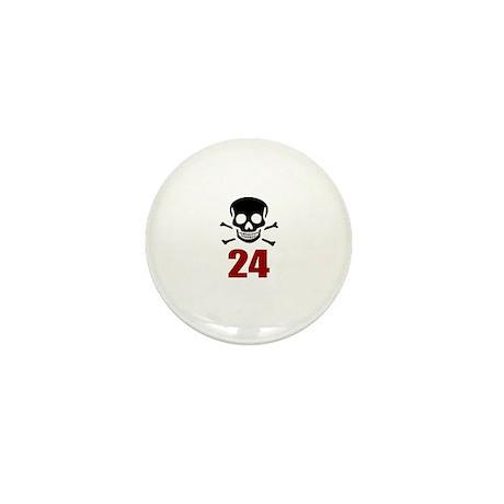 24 Birthday Designs Mini Button