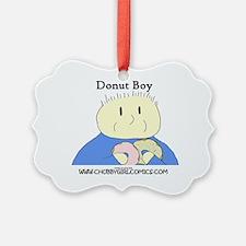CG Donut Boy Ornament